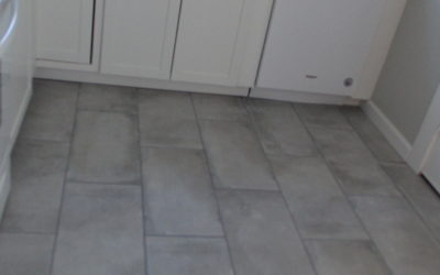 New Porcelain Tile Floor
