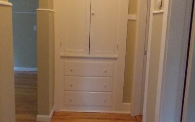 Hallway Built-In Pantry