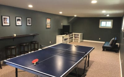 Rec Room/Man Cave - Basement