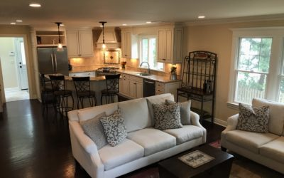 Family Room - Open Floor Plan