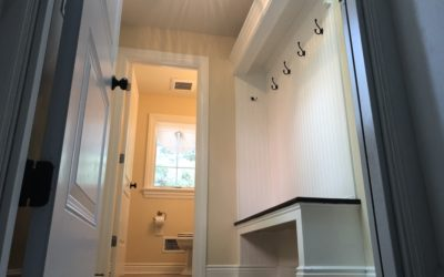 Mud Room & Guest Bathroom
