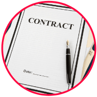 picture of avoiding a contracts with contingency clauses