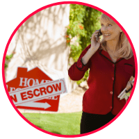 picture of an California home sellers in escrow