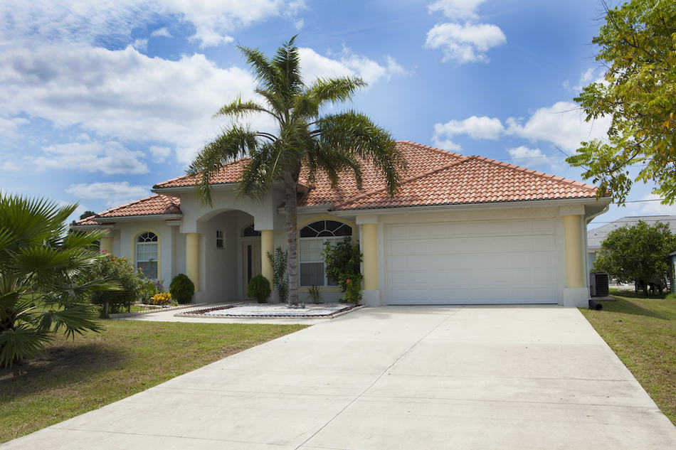 Picture of a nice florida house