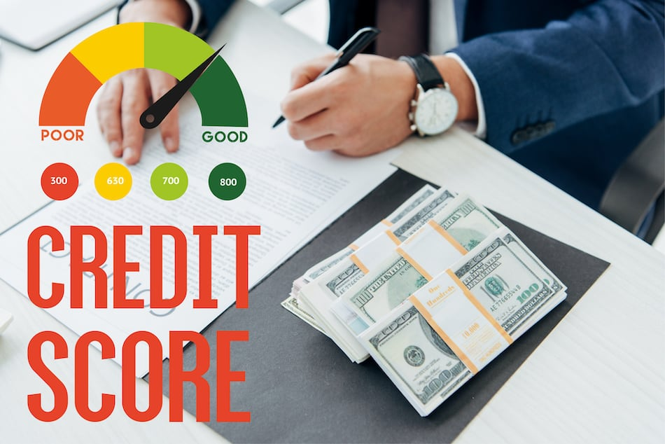 picture of good credit score required for mortgage