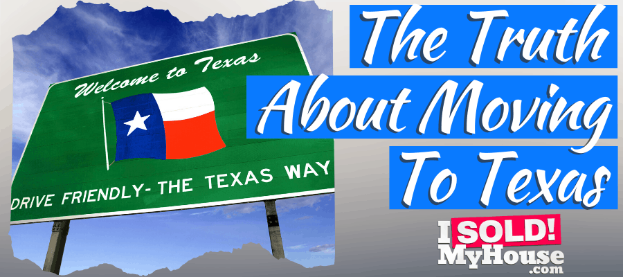 picture of moving to texas sign