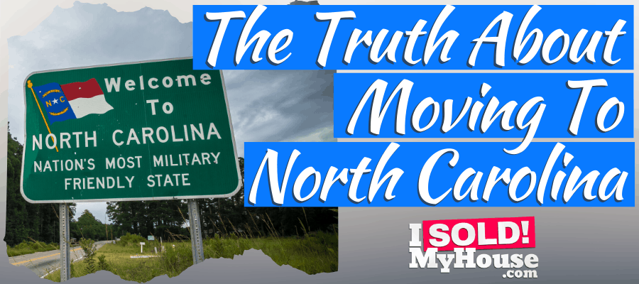 picture of moving to north carolina sign