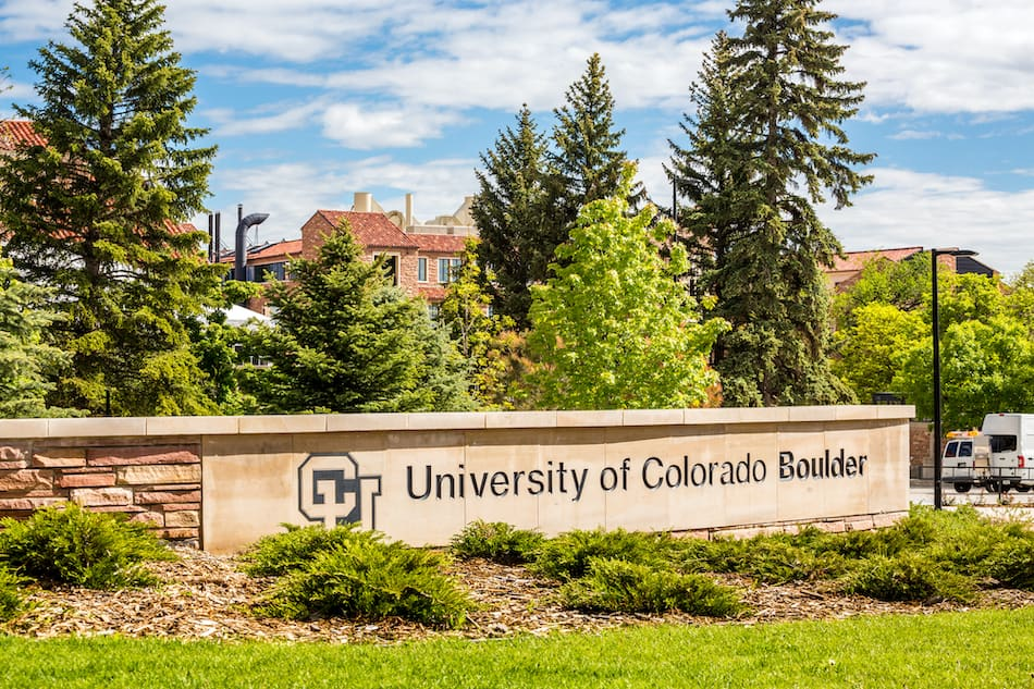 picture of Entrance to University of Colorado Boulder