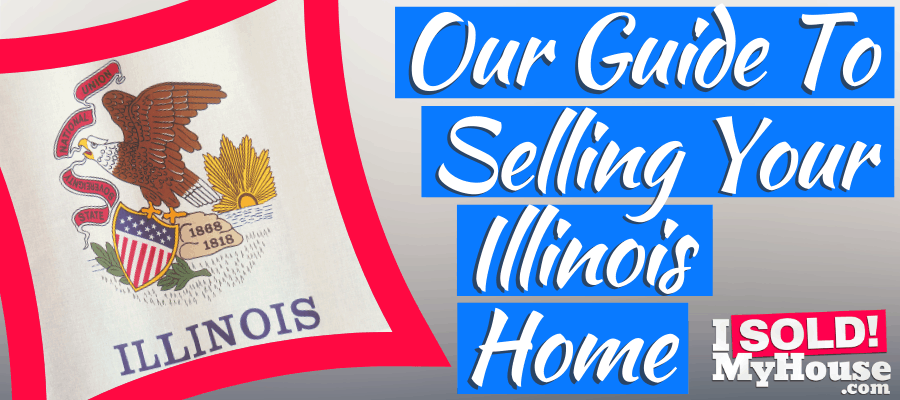 picture of selling a house in Illinois sign