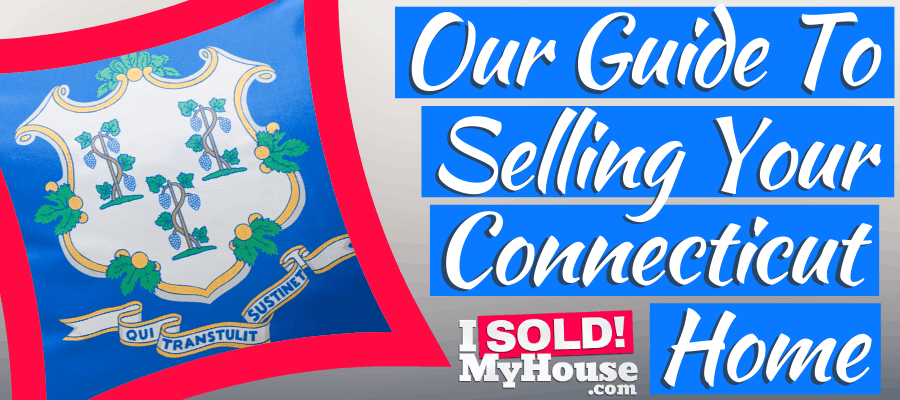 picture of selling a house in connecticut sign