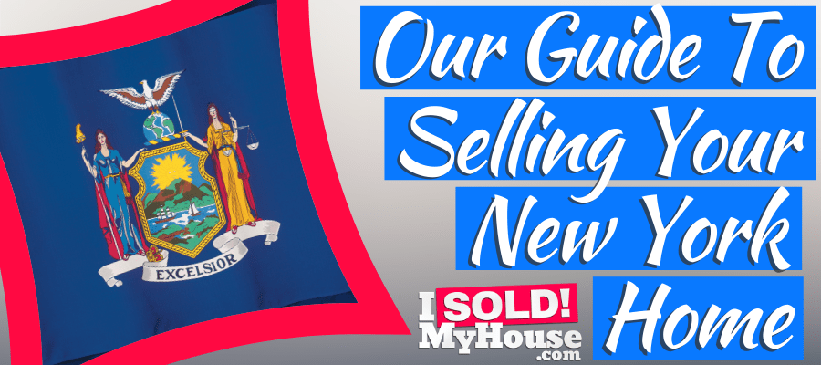 picture of selling a house in new york sign