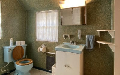 Bathroom - view of sink and toilet