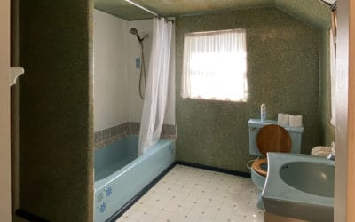 Bathroom - view of tub, toilet, and sink