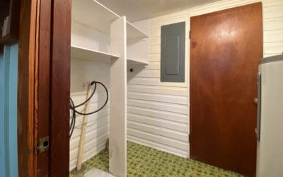 Laundry Room and Water Heater