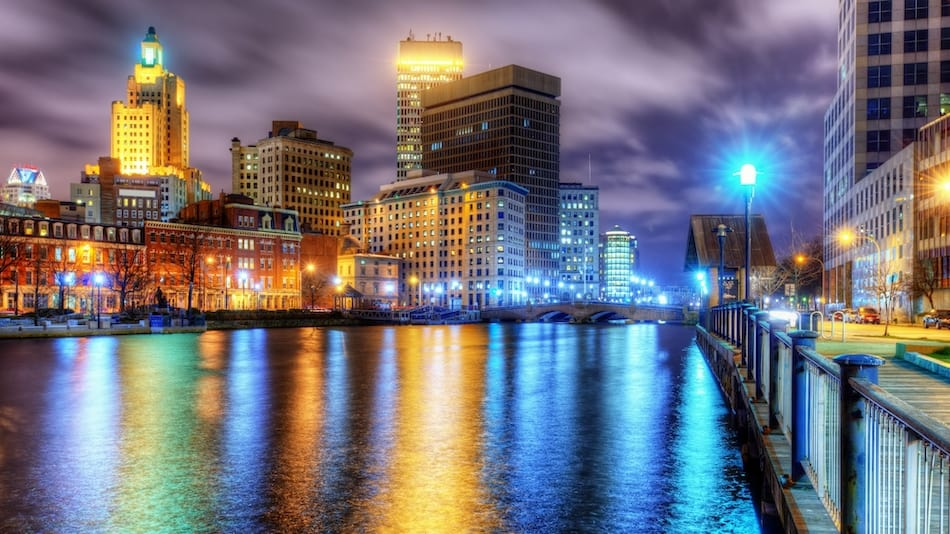 picture of Providence, Rhode Island Skyline