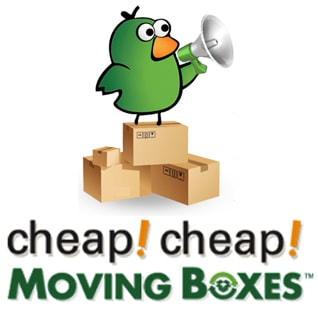picture of cheap cheap moving boxes logo