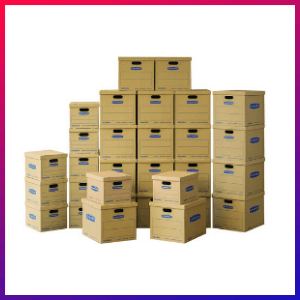 picture of Bankers Box cheap moving box kit