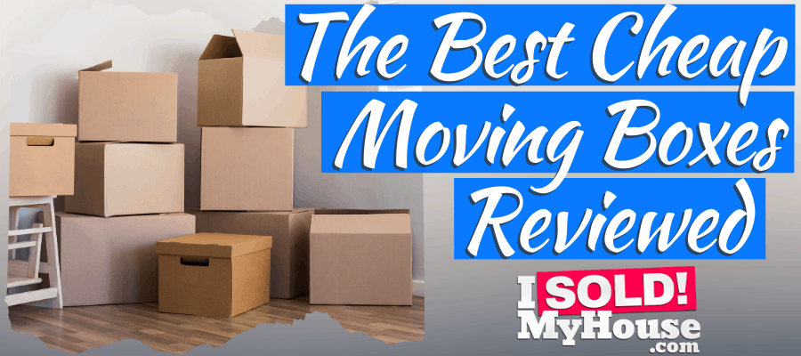 picture of our guide to the best cheap moving boxes