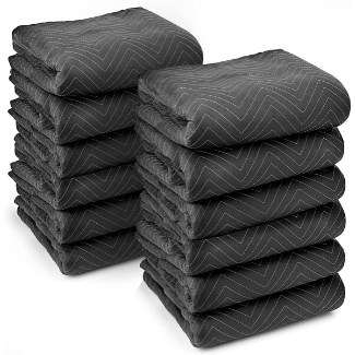 picture of Sure-Max 12 Heavy-Duty Moving & Packing Blankets - Ultra Thick Pro