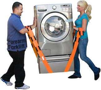 picture of Forearm Forklift Lifting and Moving Straps large