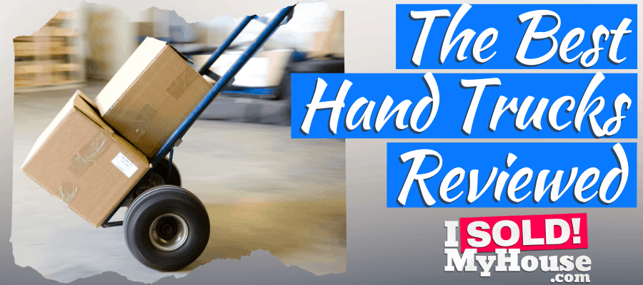 picture of our guide to the best hand trucks & dollies