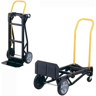 picture of Harper Trucks Glass Filled Nylon Convertible Hand Truck and Dolly (Lightweight)