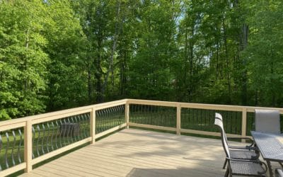 Back Deck / Backyard