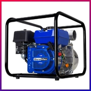 picture of our cheapest trash pump for basement flooding choice