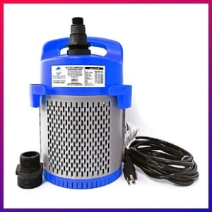 picture of our best premium option Electric Submersible Water Pumps for basement flooding choice