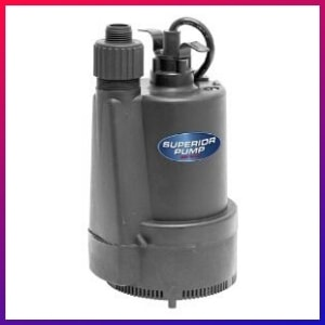 picture of our best cheapest option Electric Submersible Water Pumps for basement flooding choice