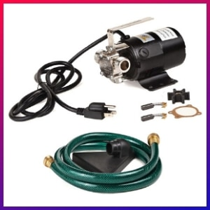 picture of our best overall utility Pump for basement flooding choice