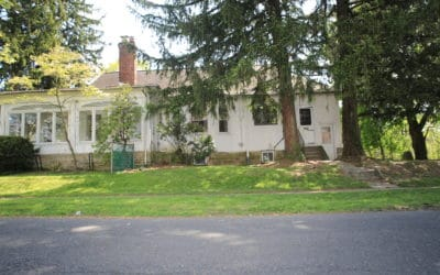 Side View of Home facing Spruce Avenue
