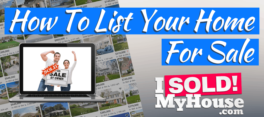 picture of our guide to listing a house for sale