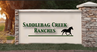Saddlebag Creek Ranches, Private Equestrian Community