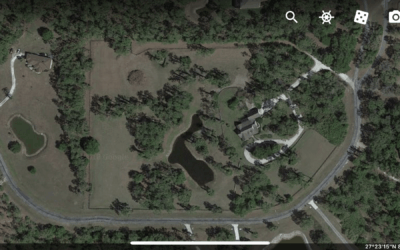 Google Earth View of property