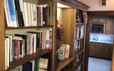 Built-in Bookcase in Hall