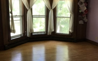 Massive Master Bedroom with Bay Windows and Cedar Walk-In Closet