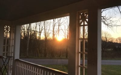 Sunrise from the Wrap-Around Porch