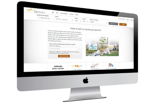 picture of ziprealty home value estimator