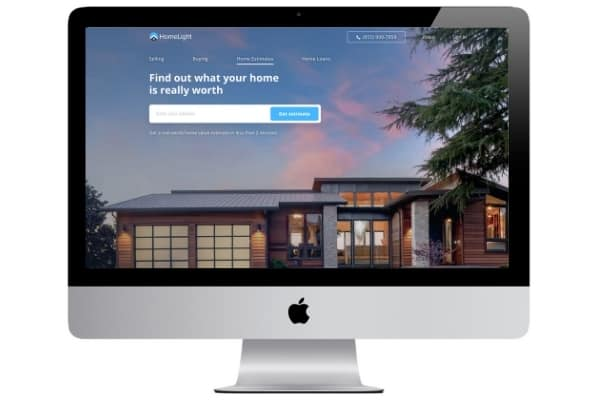 picture of homelight home value estimator