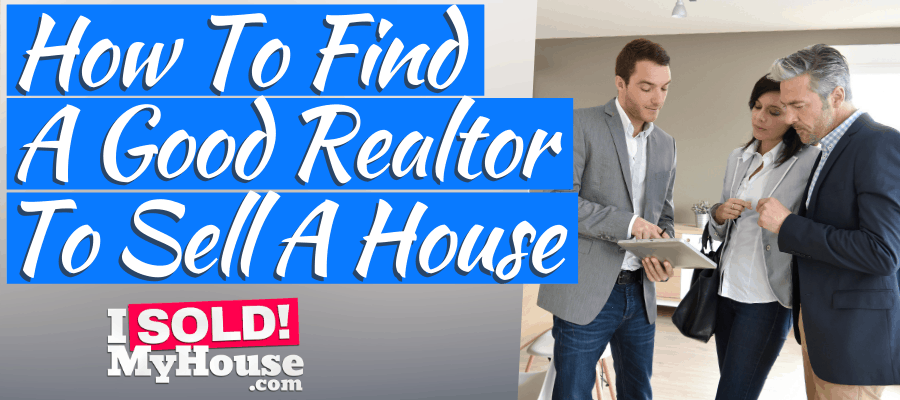 picture of our guide to finding a good realtor to sell your house