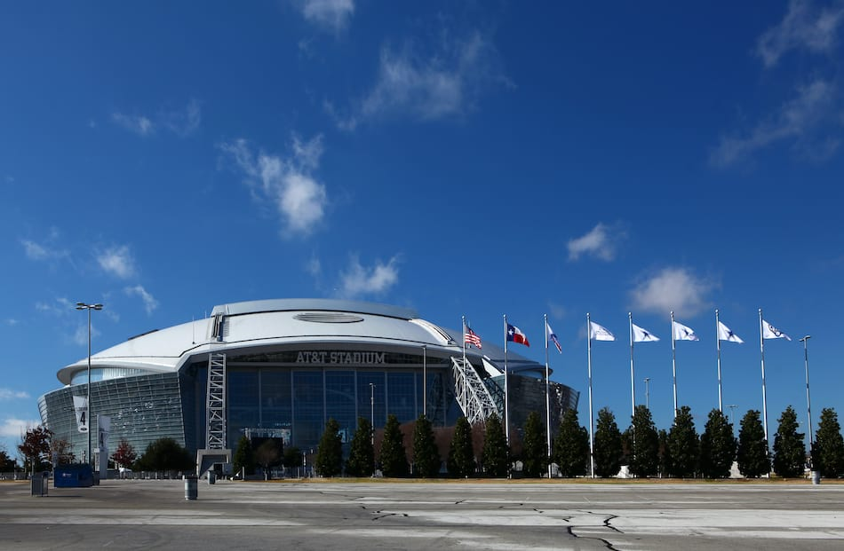 AT&T Stadium, home to the NFL's Dallas Cowboys