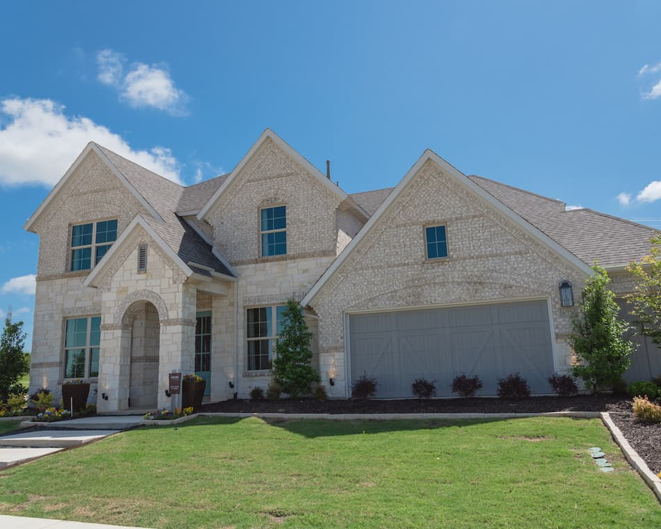 picture of a large single family home near dallas texas