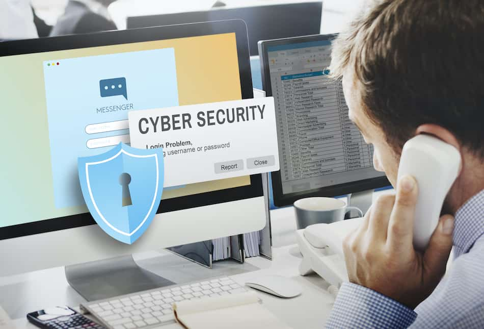picture of a technology cyber security professional