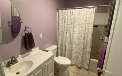 Full bath on other side