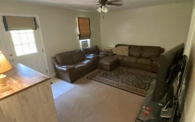 Open living room in other side